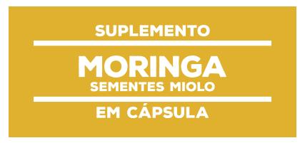 Suplemento Natural Moringa sementes Miolo